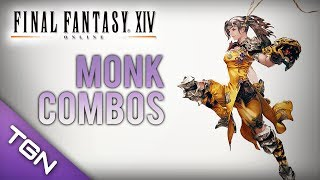 getlinkyoutube.com-Final Fantasy XIV : Monk Combos & Positioning