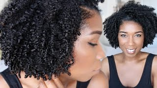 Wash and Go w/ Banding Method | Complete Routine for Coily Hair