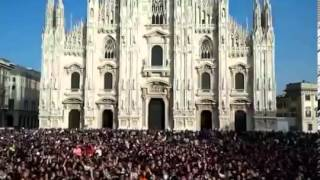 Gangnam Style Flash Mob at Milano Italia italy