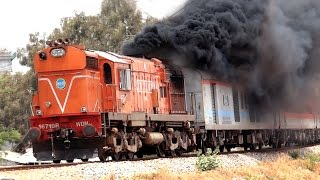 Hardcore SMOKING ALCo's : Indian Railways EXCLUSIVE