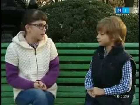 Arina Iovu si Catalin Advahov recreatia vesela 16 11 2013