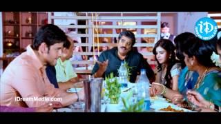 getlinkyoutube.com-Seethamma Vakitlo Sirimalle Chettu - Mahesh Babu, Rao Ramesh Nice Hotel Scene