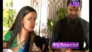 getlinkyoutube.com-Sanaya Irani & Barun Sobti off screen banter on the sets : Old Memories