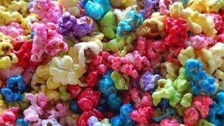Palomitas de colores- Color Popcorn Rápido y Sencillo 5 min.