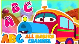 getlinkyoutube.com-ABC Train Song | ABC Song for Children | Popular Nursery Rhymes | All Babies Channel