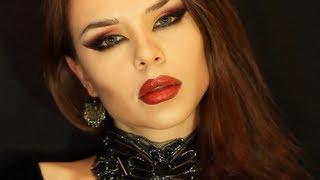 getlinkyoutube.com-MW Vampire Makeup Tutorial Transformation Необычный Вечерний Макияж Halloween