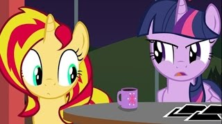 getlinkyoutube.com-[MLP Comic Dub] Pinkie Says Goodnight: Twilight and Sunset Edition (comedy)