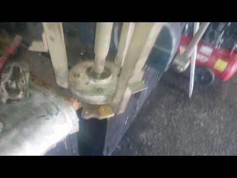Пежо 307 - Замена ступичного подшипника! Замена тормозного диска.