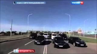 getlinkyoutube.com-Свадебный кортеж из дорогих авто сына чиновника МВД, устроил необычный заезд в Казахстане