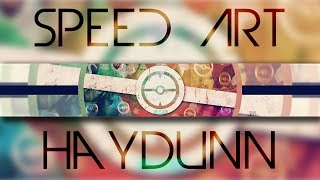 getlinkyoutube.com-Haydunn Channel Banner Speed Art | Photoshop and Cinema 4D
