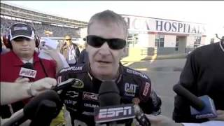 getlinkyoutube.com-Jeff Burton and Jeff Gordon Crash   Fight! NASCAR Drivers fight And Ride MAD in Ambulance together   YouTube