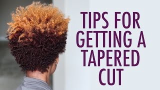 getlinkyoutube.com-WATCH THIS before CUTTING YOUR Natural Hair | Tapered Cut