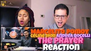 Marcelito Pomoy - The Prayer (Celine Dion/Andrea Bocelli) Reaction