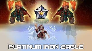 Iron Eagle Platino- Mutants: Genetic Gladiators (Fusion) Tomahawk Platino