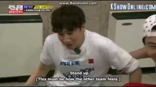 getlinkyoutube.com-Engsub Running Man Ep 242   Kwangsoo got scared