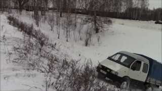 getlinkyoutube.com-Копия видео Газель 4х4