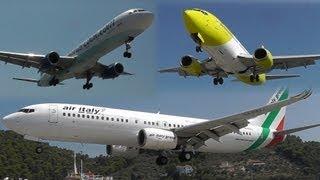 getlinkyoutube.com-7 Hours of Insane Plane Spotting at Skiathos, the Second St Maarten! Low landings and Jet blasts!