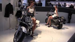 getlinkyoutube.com-Moto Guzzi California 1400 EICMA Milano