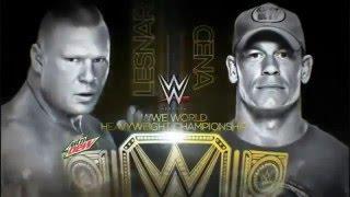 [WWE Highlights] Brock Lesnar VS John Cena (Night Of Champion 2014)