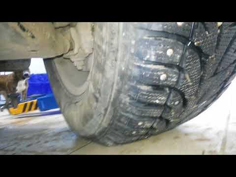 Toyota Land Cruiser. Скрежет в передней подвеске при крайних положениях руля.