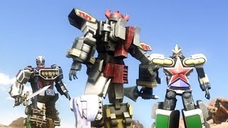 getlinkyoutube.com-DAIZYUJIN III MEGAZORD - short movie battle fight CGI ( fan made )