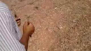 تجربة اسياخ النحاس من طرف مغربي حر
