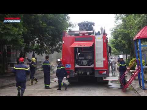 Hà Nội: Cháy lớn tại biệt thự liền kề gần Thiên Đường Bảo Sơn