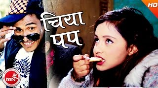 "getlinkyoutube.com-New Comedy Lokdohori Song | CHIYA POP ""चिया पप"" - Jyoti Magar & Rishi Khadka | Ft.Karishma Dhakal,"