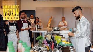 Cooking demo for AdeZ #AD | @avantgardevegan by Gaz Oakley