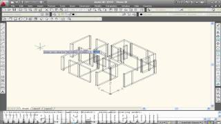 getlinkyoutube.com-Learn AutoCAD - برنامج تعليم أوتوكاد - الرسم ثلاثى الأبعاد