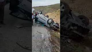 Malatya yolunda trafik kazası