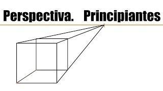 getlinkyoutube.com-Tutorial Perspectiva. Principiante, 1 punto de fuga. crear un cubo, dividir en 2 y 3 partes objeto.