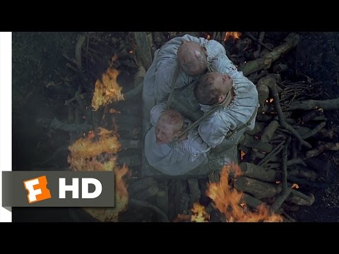 Elizabeth (1/11) Movie CLIP - The Burning of Master Nicholas Ridley (1998) HD