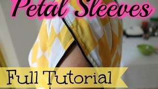 getlinkyoutube.com-Petal sleeves- Full tutorial