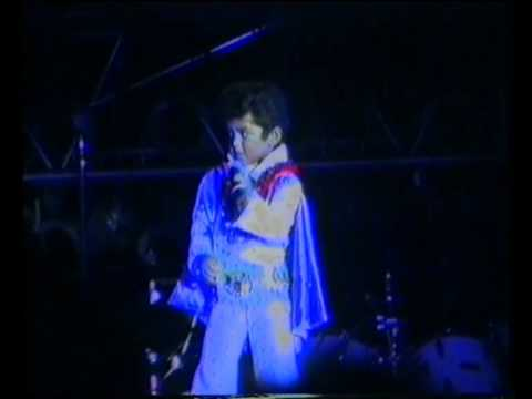 Bruno Mars as Elvis in Memphis, August 1990