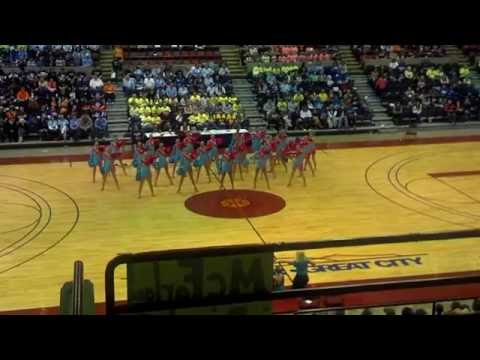 Waupaca High School-2013 Pom champions