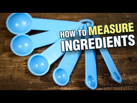 How to Measure Ingredients – Baking Basics with Upasana – Baking Essentials for Beginners