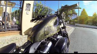 getlinkyoutube.com-Harley Davidson - Forty Eight - onboard GoPro Black Edition 1080p HD
