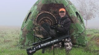 "getlinkyoutube.com-Benjamin Bulldog .357 AirGun Turkey Hunt- Fall 2016- ""Flocking Up"""