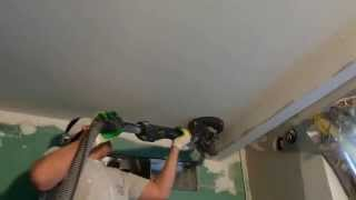 getlinkyoutube.com-Шлифовка потолка без пыли