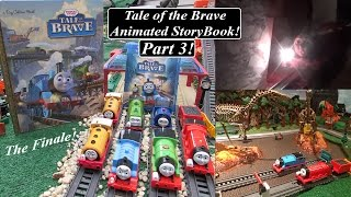 getlinkyoutube.com-Thomas & Friends Tale of the Brave Animated Story Book Part 3!
