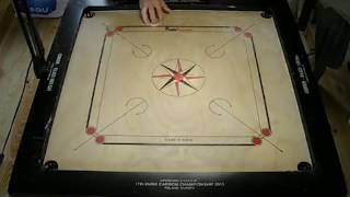 getlinkyoutube.com-New Carrom Practice Exercices played and edited by Pierre