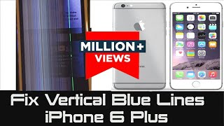 getlinkyoutube.com-iPhone 6 Plus | How to Fix Vertical Blue Lines | Unresponsive Screen not responding
