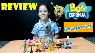 getlinkyoutube.com-Imaginext Bob Esponja - Review Brinquedos do Bob Esponja, Patrick e amigos