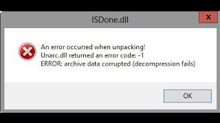 getlinkyoutube.com-ISDone.dll error fix