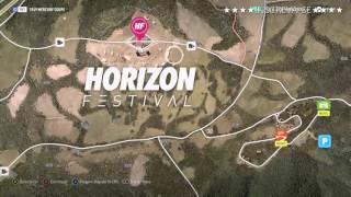 Mapa do Tesouro Forza Horizon 2 (XBOX ONE)