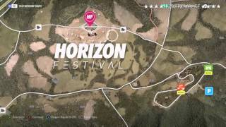 getlinkyoutube.com-Mapa do Tesouro Forza Horizon 2 (XBOX ONE)