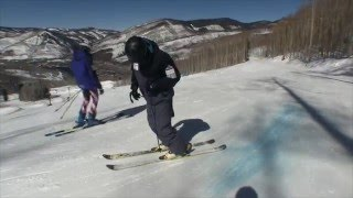 getlinkyoutube.com-How to slide boxes and rails on snow skis; Beginner to Intermediate