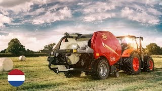 Vicon FastBale non-stop baler/wrapper combination in The Netherlands