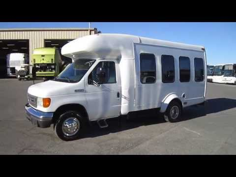 Used ParaTransit Van - 2006 Ford E350 Startrans For 7 Passengers Plus 1 Wheelchair Or 5 + 2  S42485